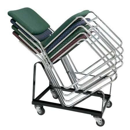 National Public Seating 8600 Series Armless Signature Stack Chair Dolly