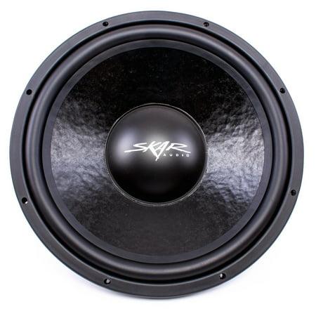 """Skar Audio IVX-15v2 D4 15"""" 800W Max Power Dual 4 Ohm Subwoofer"""