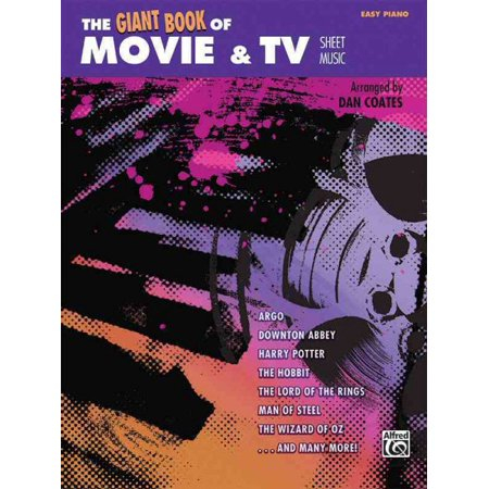 Giant Book of Sheet Music: The Giant Book of Movie & TV Sheet Music (Paperback)