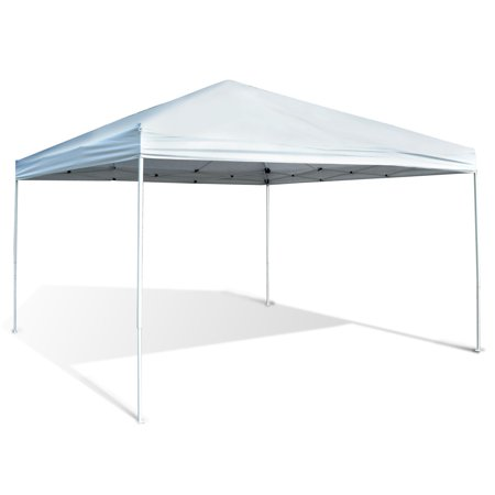 Outsunny 13' x 13' Easy Canopy Pop Up Tent - Light Gray - Wednesday 13 Halloween 13-13