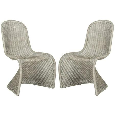 Safavieh Tana Wicker Side Chair, Set of 2 ()