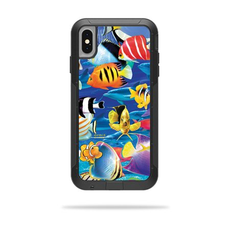 Skin for OtterBox Pursuit iPhone XS Max Case - Tropical Fish | Protective, Durable, and Unique Vinyl Decal wrap cover | Easy To Apply, Remove, and Change