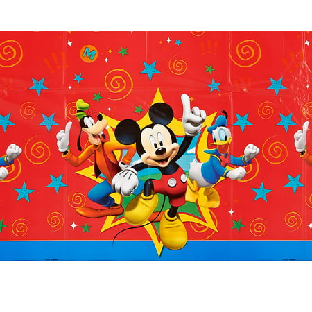 Mickey Mouse Clubhouse Plastic Table Cover 54 X 96 Walmart Com