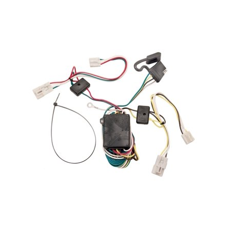 118304 T-One Connector Assembly with Converter, T-One Tow Harness Connectors require no splicing of vehicle wires, just locate your vehicle's wiring harness connector.., By Tekonsha