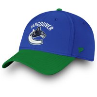 Vancouver Canucks Fanatics Branded Iconic Tech Speed Flex Hat - Blue/Green