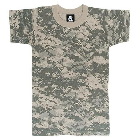 Boys Digital Camouflage Army Combat Uniform T-Shirt