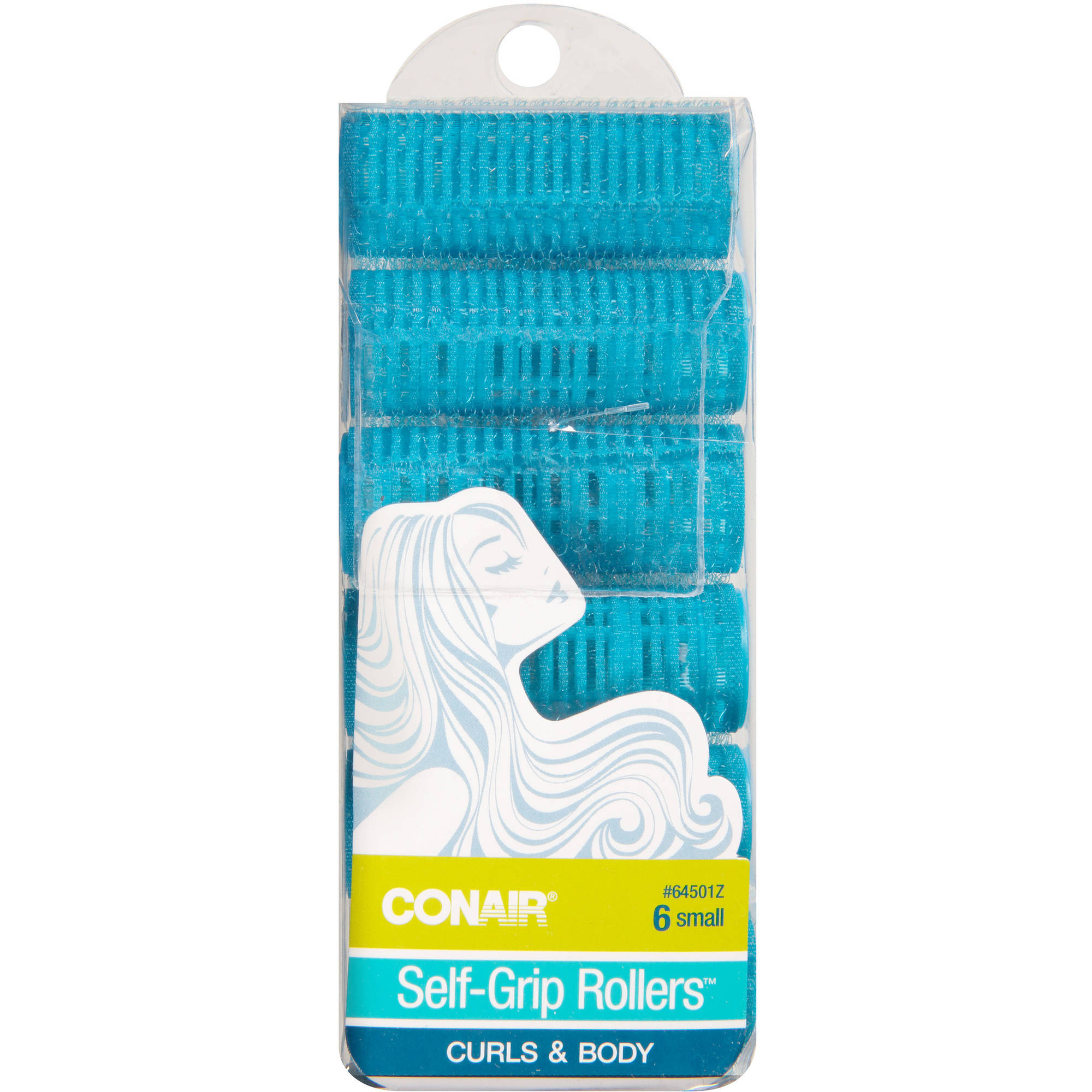 Conair Self-Grip Rollers, Small, 6 count