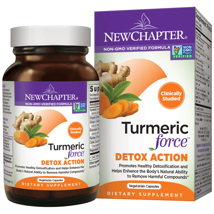 Vitamins & Supplements: New Chapter Turmeric Force Detox Action