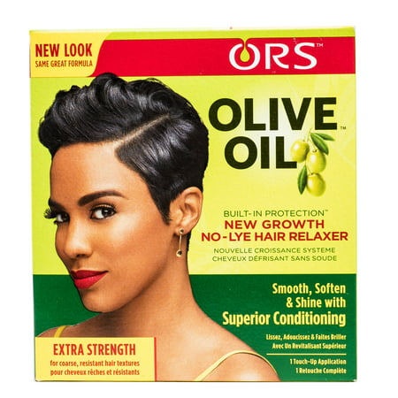 ORS Olive Oil New Growth No-Lye Hair Relaxer - Extra Strength Kit