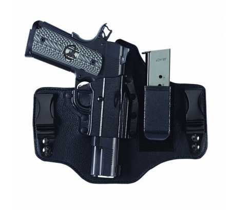 Galco KT2225B Kingtuk 2 IWB Glock 17 Black Left Hand Kydex Steerhide by GALCO INTERNATIONAL