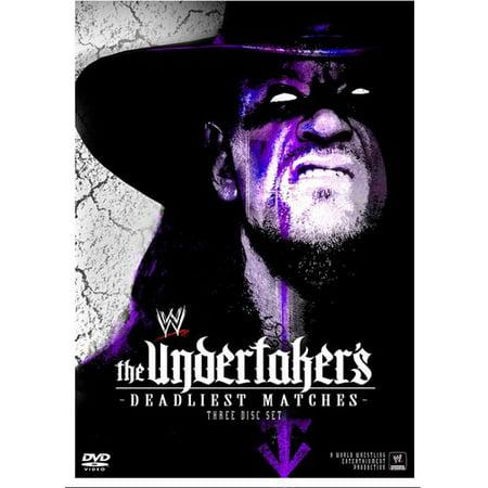 The Undertaker's Deadliest Matches (Three Discs)