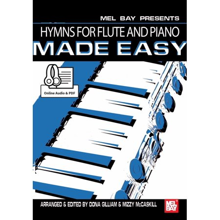 Hymns for Flute and Piano Made Easy - eBook
