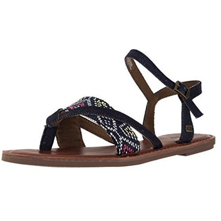 b725f66ba978 TOMS - Toms Lexie Sandals Navy Multi Woven 10007917 Womens 6.5 - Walmart.com