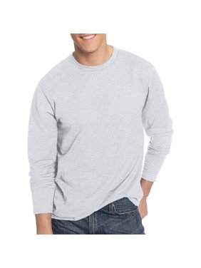 ac55d32b2e6c32 Product Image Hanes Men s Nano-T Tagless Ultra-Light Long Sleeve Tshirt