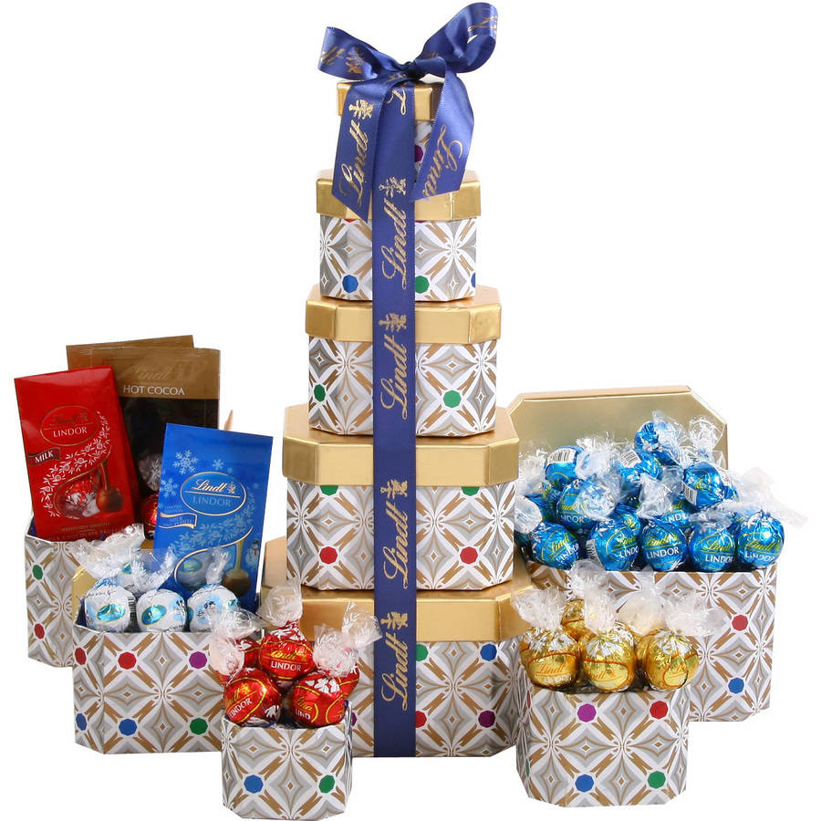 Lindt Tower Gift Set, 5 pc