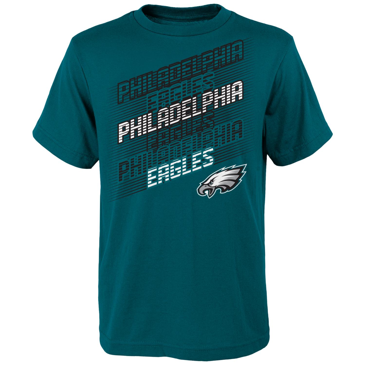 "Philadelphia Eagles Youth NFL ""Accelerate"" Short Sleeve T-Shirt"