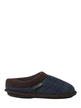 Dearfoams Boys Quilted Clog Slippers
