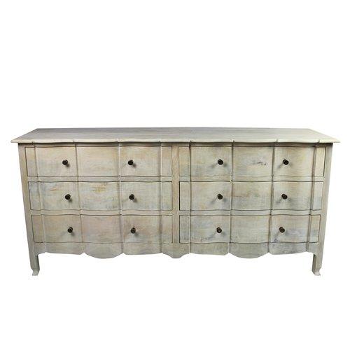 Gracie Oaks Harsha 6 Drawer Double Dresser