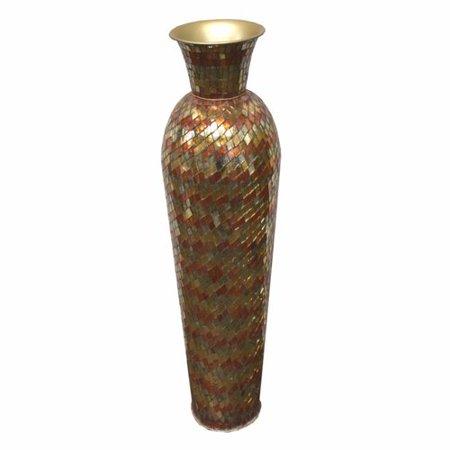 Bay Isle Home Stiner Mosaic Floor Vase Walmart