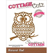 "CottageCutz Elites Die, 2.7"" x 2.7"", Harvest Owl"