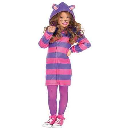 Morris Costumes UAC49106SM Cat Cheshire Cozy Child Costume, Small 5-6