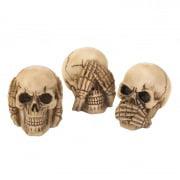 Skulls, Halloween Decorations Skull Decor For Party Decoration - Polyresin
