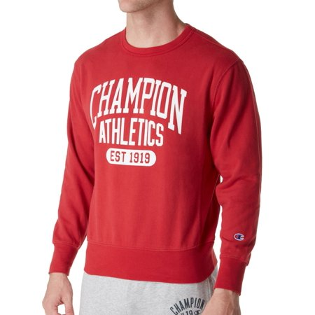 63adab56c57 Champion - Men s Champion S1230 Heritage Vintage Fleece Crew - Walmart.com