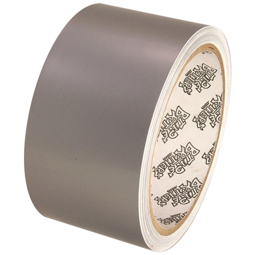 """Tape Planet 3 mil 2"""" x 10 yard Roll Silver Outdoor Vinyl"""