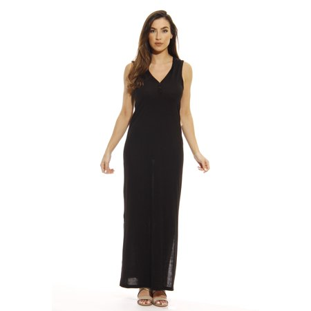 Just Love Just Love Maxi Hoodie Dress Summer Dresses Heathered