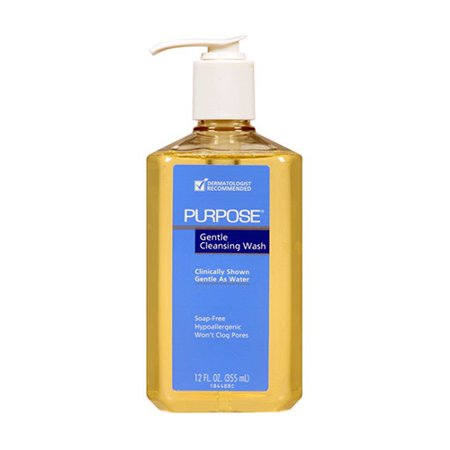 - Purpose Gentle Cleansing Wash Pump Bottle - 12 Oz