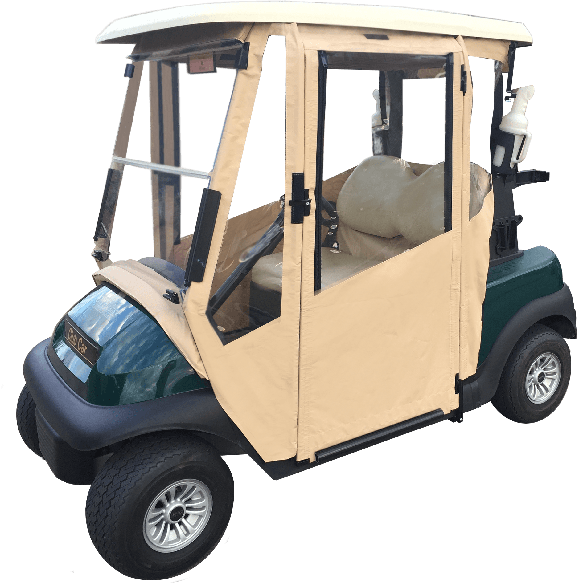 DoorWorks Hinged Door Golf Cart Enclosures - Club Car Precedent / Onward
