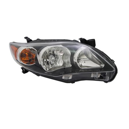 2011-2013 Toyota Corolla  Aftermarket Passenger Side Front Head Lamp Assembly 8111002B60-V