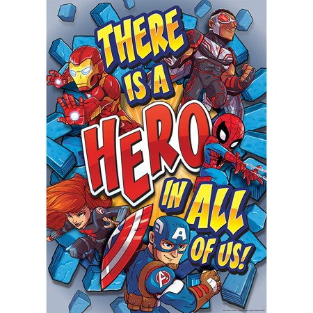 MARVEL SUPER HERO IN 13X19 POSTER - Superhero Poster