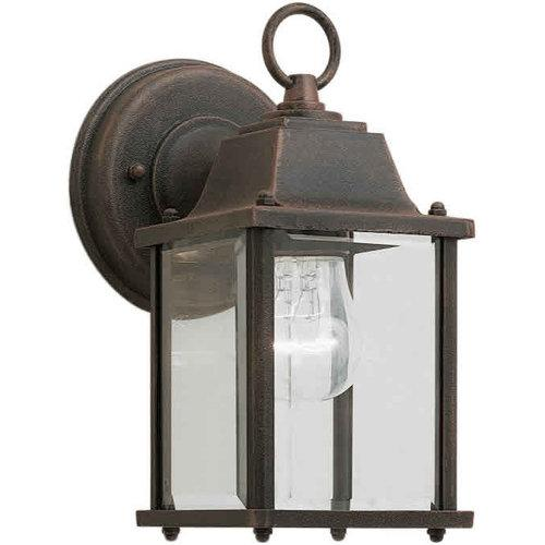 Forte Lighting  1705-01  Wall Sconces  Exterior_Lighting  Outdoor Lighting  Outdoor Wall Sconces  ;Painted Rust