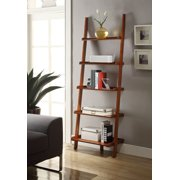 Convenience Concepts American Heritage Ladder Bookcase, Cherry