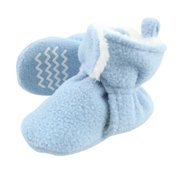 Hudson Baby Newborn Boy Sherpa Lined Booties