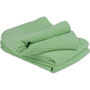 Mint Pantry Microfiber Waffle Weave Stemware and Bar Towel, 6-Pack (Set of 6)