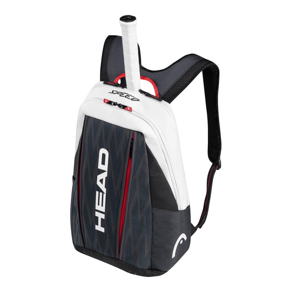 Head Djokovic Tennis Backpack Black and White