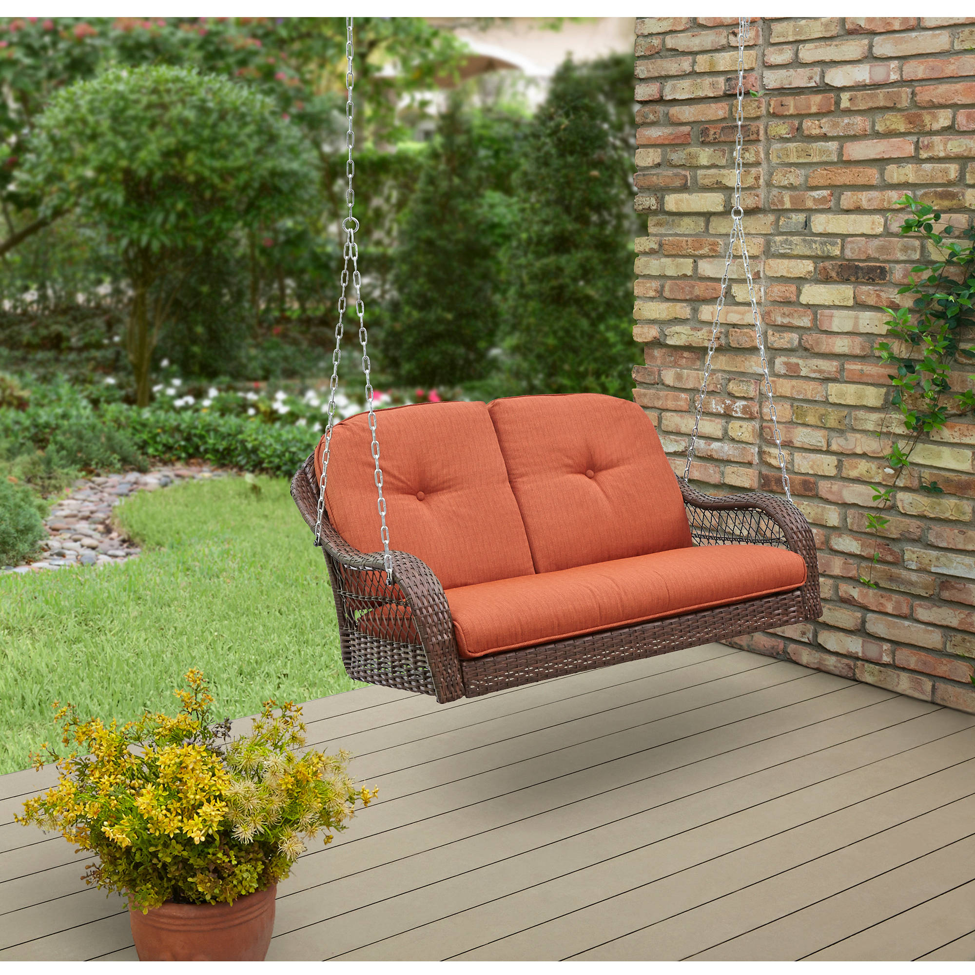 Better Homes and Garden Azalea Ridge 2-Person Outdoor Swing