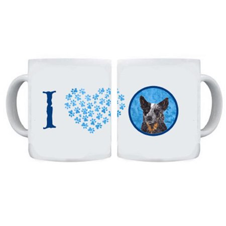 15 oz. Australian Cattle Dog Dishwasher Safe Microwavable Ceramic Coffee (Best Price Coffee Machines Australia)