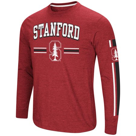 Stanford University T-shirt - Stanford University Men's Long Sleeve Touchdown Pass Tee