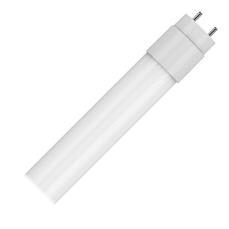 GE 34300 - LED14ET8/G/4/850 4 Foot LED Straight T8 Tube Light Bulb for Replacing (Replace 4 Foot Fluorescent Fixture With Led)
