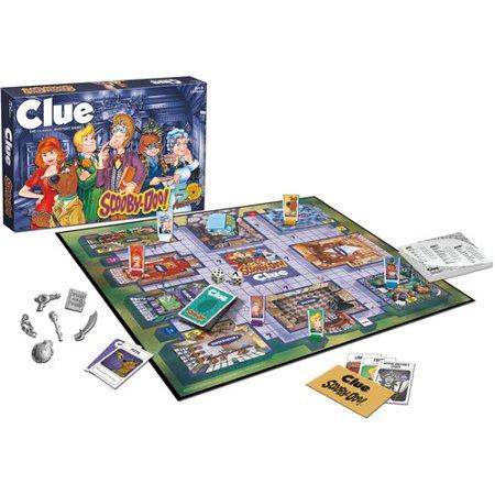 Scooby Doo Halloween Game (CLUE: Scooby-Doo)