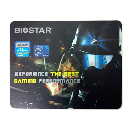 Buy Now Biostar Gamer Pattern 11″ Medium Gaming Computer Mouse Pad w/ Anti-slip Base NEW Before Too Late