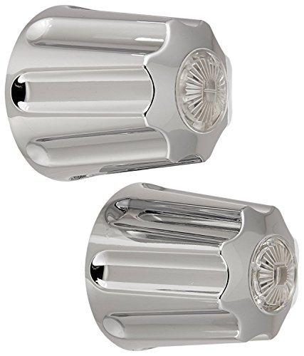 danco replacement pair chrome deep broach showertub handles for gerber