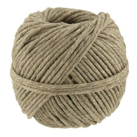 Hemp Cord Necklace (Natural Polished Thick Hemp)