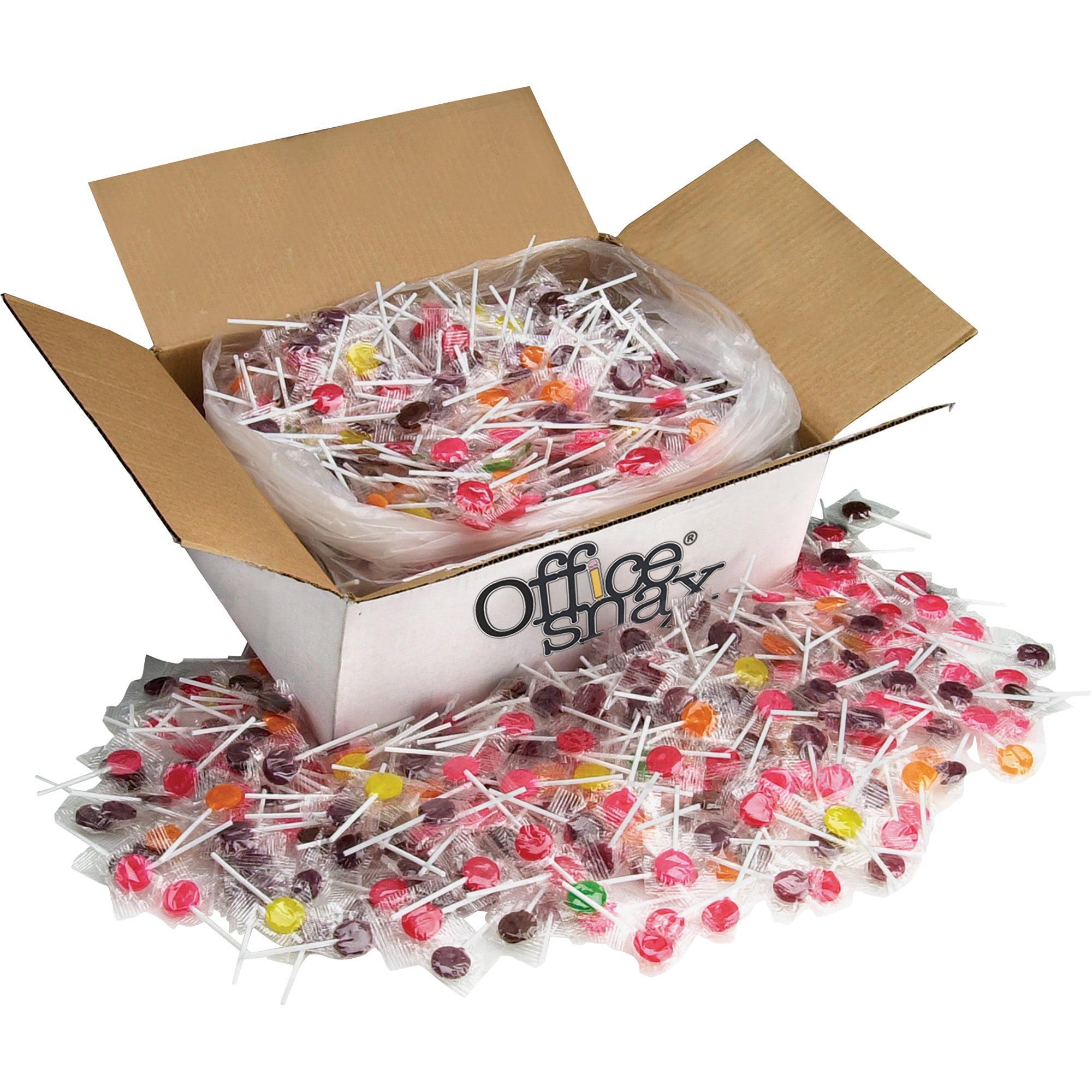Office Snax, OFX00004, Lick Stix Fruit Flavor Sucker Candy, 1440 / Carton