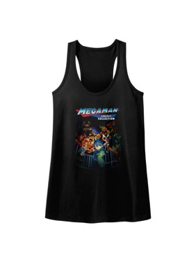 71a3e48949dca Product Image Mega Man Video Game Legacy Rockman Collection Legends Golden Womens  Tank Top