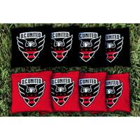 D.C. United Cornhole Game All-Weather Bag Set