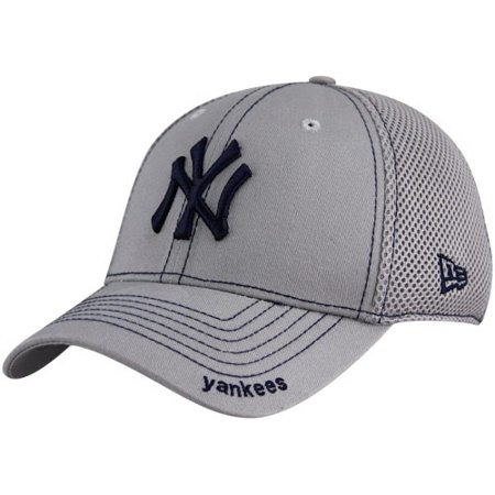 New Era New York Yankees Gray Neo 39THIRTY Stretch Fit Hat - Walmart.com 11cc27740